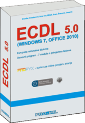Naslov knjige: ECDL 5.0    (Windows 7, MS Office 2010)